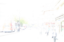 The Strand, overexposed