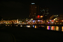 Clarke Quay by night