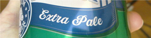 [IMG: Extra Pale]