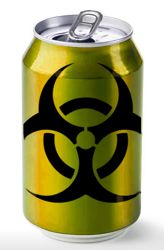 [IMG: BIOHAZARD can]