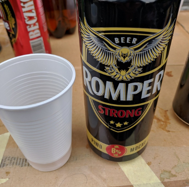 [IMG: Image of Romper shared on Untappd from TCrBF]