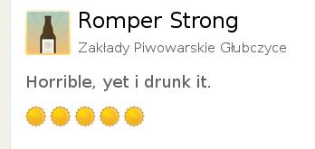 [IMG: Horrible yet i drunk it.]