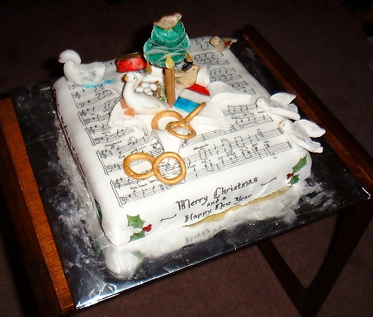 Christmas Cake Images With Quotes : christmas cake icing Quotes