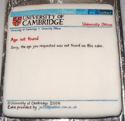 Cake Decorating Ideas For New Job : Cake or death?