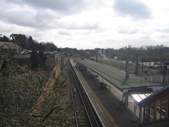 Bishops Stortford Rail Station Car Park