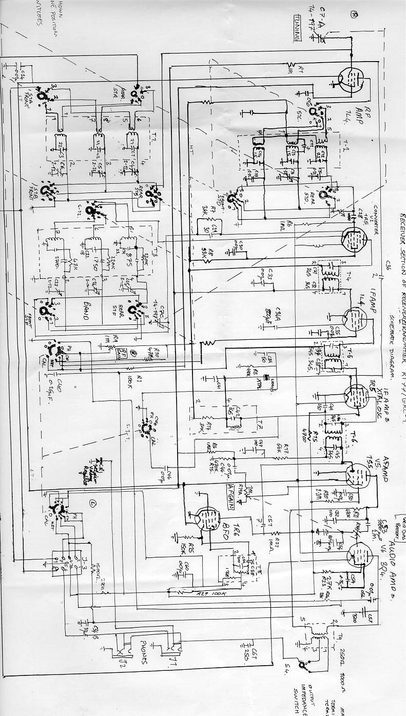 Wireless Information Systems Wiring Diagram Additionally Fm Radio Receiver Circuit I Have Now Obtained A Copy Of The Maintenance Manual