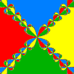 Fractals derived from Newton-Raphson iteration